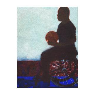 車椅子バスケットボール2011年 キャンバスプリント