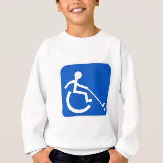 車椅子力のホッケー スウェットシャツ