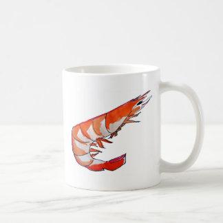 車海老のエビのシーフードの駄作の芸術 コーヒーマグカップ