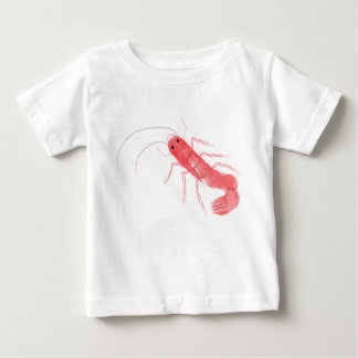 車海老の乳児のTシャツ ベビーTシャツ