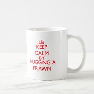 車海老を抱き締めることによって平静を保って下さい コーヒーマグカップ