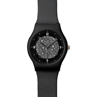 車輪およびギア-サイクリストの腕時計 腕時計