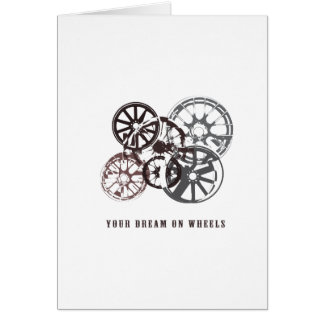 車輪のあなたの夢 カード