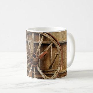 車輪のカッコいいのマグ コーヒーマグカップ