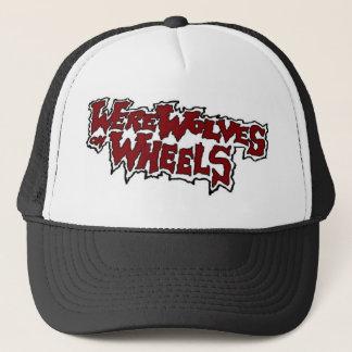 車輪のトラック運転手の帽子の狼人間 キャップ