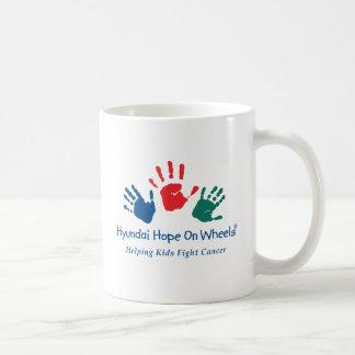 車輪のロゴのマグの希望 コーヒーマグカップ