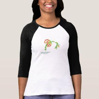 (車輪の姿勢I)の女性のBella 3/4枚の袖のTシャツ Tシャツ
