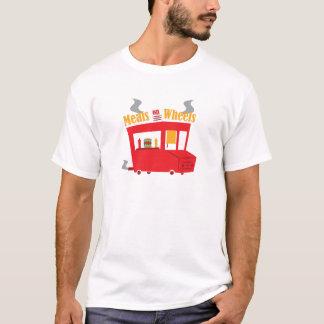 車輪の食事 Tシャツ