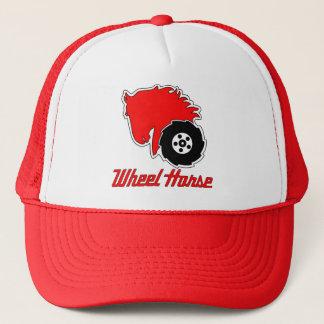 車輪馬の庭のトラクターのトラック運転手の帽子 キャップ