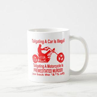 車間距離無視はオートバイそう計画的な殺害です コーヒーマグカップ