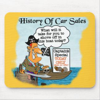 車Sales2の歴史 マウスパッド
