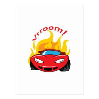 車VROOM ポストカード