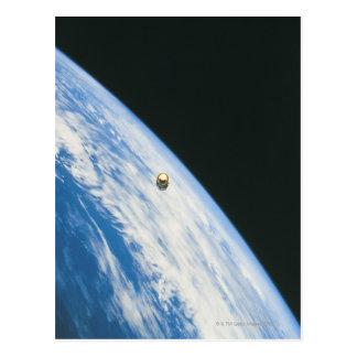 軌道の衛星 ポストカード