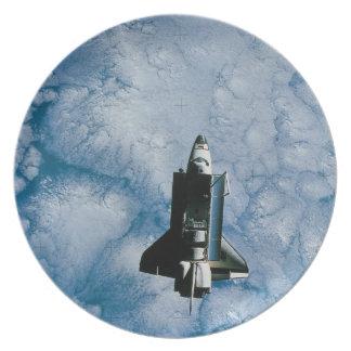 軌道スペースシャトル プレート