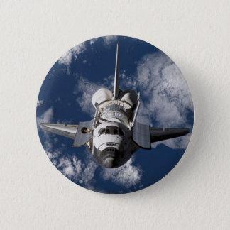 軌道地球のスペースシャトル 5.7CM 丸型バッジ