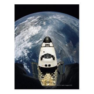 軌道宇宙船 ポストカード