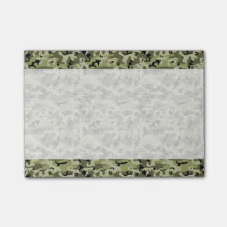 軍のカムフラージュパターン-緑の白い黒 ポストイット