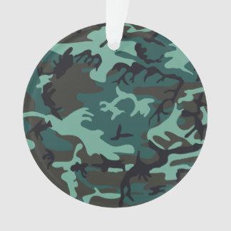 軍のカムフラージュ オーナメント