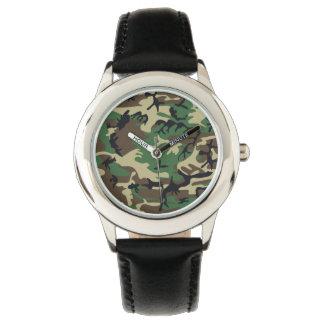 軍のカムフラージュ 腕時計