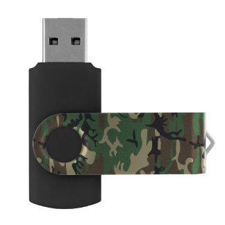 軍のカムフラージュ USBフラッシュドライブ