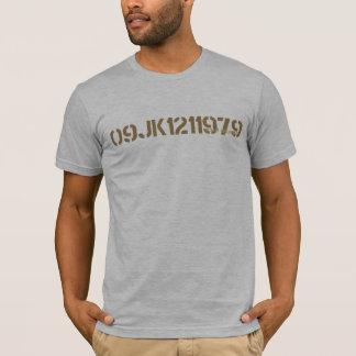 軍のステンシルワイシャツ2 Tシャツ