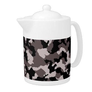 軍のブラウンのカムフラージュパターン