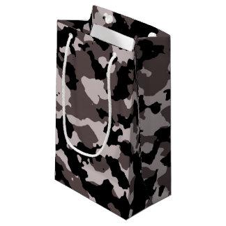 軍のブラウンのカムフラージュパターン スモールペーパーバッグ