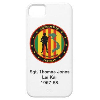 軍のベトナム戦争の退役軍人のカスタムなIPhone 5の場合 iPhone SE/5/5s ケース