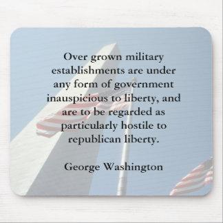 軍のマウスパッドのジョージ・ワシントン マウスパッド