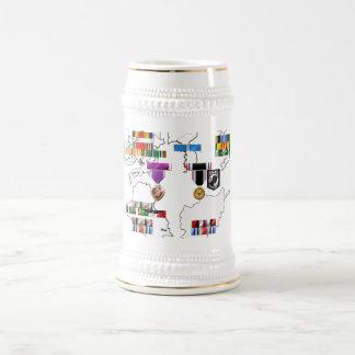 軍のリボン ビールジョッキ