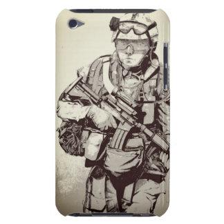 軍の兵士のiPhoneの場合 Case-Mate iPod Touch ケース
