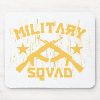 軍の分隊カラシニコフ自動小銃-黄色 マウスパッド