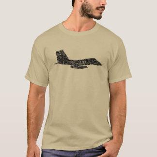 軍の戦闘機の通話表 Tシャツ