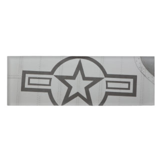 軍の星の名札 名札