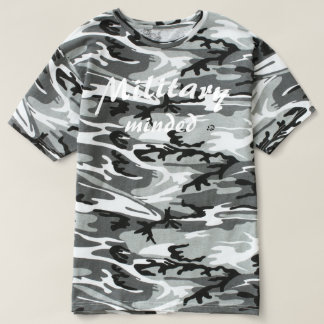 軍の気にされた(エリートは単位を得ます)迷彩柄のTシャツ Tシャツ