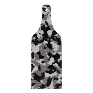 軍の灰色のカムフラージュパターン カッティングボード