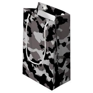 軍の灰色のカムフラージュパターン スモールペーパーバッグ