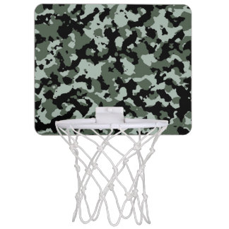 軍の緑のカムフラージュパターン ミニバスケットボールゴール