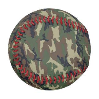 軍の緑のカムフラージュパターン 野球ボール