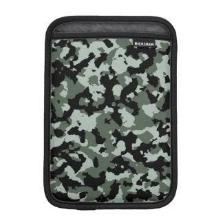 軍の緑のカムフラージュパターン iPadミニ スリーブ
