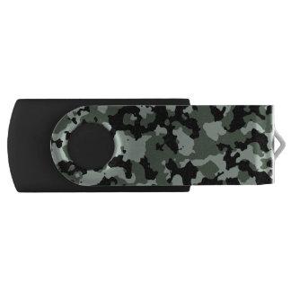 軍の緑のカムフラージュパターン USBフラッシュドライブ