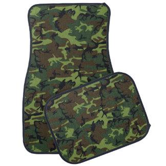 軍の緑の迷彩柄 カーマット
