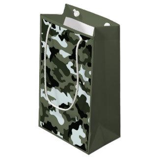 軍の迷彩柄 スモールペーパーバッグ