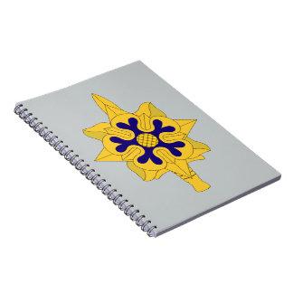 軍事情報の記章 ノートブック