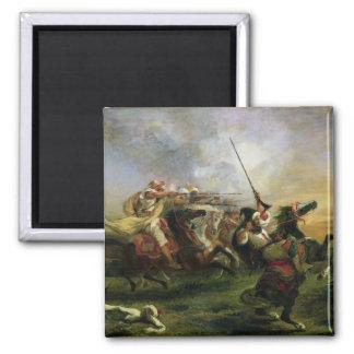 軍事活動1832年のモロッコの騎手 マグネット