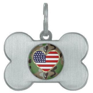 軍愛犬 ペットネームタグ