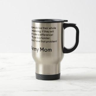 軍隊のお母さん問題の息子無し トラベルマグ