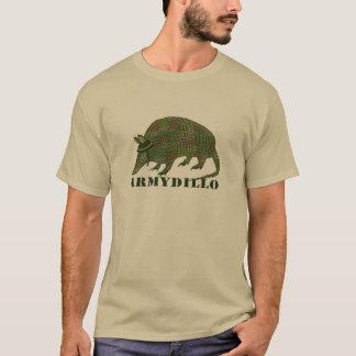 軍隊のアルマジロ項目 Tシャツ