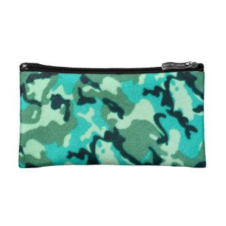 軍隊のカムフラージュパターン コスメティックバッグ