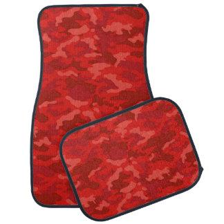 軍隊のカムフラージュ(えんじ色色)のカーマット カーマット
